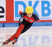 Subject: Bianca Walter; Tags: Sport, Shorttrack, Short Track, GER, Germany, Deutschland, Damen, Ladies, Frau, Mesdames, Female, Women, Bianca Walter, Athlet, Athlete, Sportler, Wettkämpfer, Sportsman; PhotoID: 2009-02-13-0199