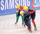Subject: Aika Klein, Bernadett Heidum, Kimberly Derrick; Tags: Sport, Shorttrack, Short Track, Kimberly Derrick, HUN, Hungary, Ungarn, GER, Germany, Deutschland, Ehemalige, Damen, Ladies, Frau, Mesdames, Female, Women, Bernadett Heidum, Athlet, Athlete, Sportler, Wettkämpfer, Sportsman, Aika Klein, USA, United States, Vereinigte Staaten von Amerika; PhotoID: 2009-02-13-1412