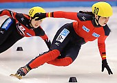 Subject: Bianca Walter; Tags: Sport, Shorttrack, Short Track, GER, Germany, Deutschland, Damen, Ladies, Frau, Mesdames, Female, Women, Bianca Walter, Athlet, Athlete, Sportler, Wettkämpfer, Sportsman; PhotoID: 2009-02-13-1754