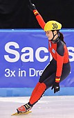 Subject: Bianca Walter; Tags: Sport, Shorttrack, Short Track, Gesichter, Face, Close up, Antlitz, Konterfei, Visage, GER, Germany, Deutschland, Freude, Pleasure, Jubel, Lachen, Glücklich, Glück, Smile, Luck, Lucky, Emotion, Emotion, Gefühle, Empfindung, Sentiment, Feeling, Sensation, Passion, Detail, Damen, Ladies, Frau, Mesdames, Female, Women, Bianca Walter, Athlet, Athlete, Sportler, Wettkämpfer, Sportsman; PhotoID: 2009-02-13-1830