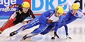 Subject: Alex Boisvert-Lacroix, Nicola Rodigari; Tags: Sport, Shorttrack, Short Track, Nicola Rodigari, ITA, Italy, Italien, Herren, Men, Gentlemen, Mann, Männer, Gents, Sirs, Mister, CAN, Canada, Kanada, Athlet, Athlete, Sportler, Wettkämpfer, Sportsman, Alex Boisvert-Lacroix; PhotoID: 2009-02-14-0310