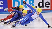 Subject: Alex Boisvert-Lacroix, Ho-Suk Lee, Nicola Rodigari; Tags: Sport, Shorttrack, Short Track, Nicola Rodigari, KOR, South Korea, Südkorea, ITA, Italy, Italien, Ho-Suk Lee, Herren, Men, Gentlemen, Mann, Männer, Gents, Sirs, Mister, CAN, Canada, Kanada, Athlet, Athlete, Sportler, Wettkämpfer, Sportsman, Alex Boisvert-Lacroix; PhotoID: 2009-02-14-0319