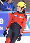Subject: Bianca Walter; Tags: Sport, Shorttrack, Short Track, Gesichter, Face, Close up, Antlitz, Konterfei, Visage, GER, Germany, Deutschland, Detail, Damen, Ladies, Frau, Mesdames, Female, Women, Bianca Walter, Athlet, Athlete, Sportler, Wettkämpfer, Sportsman; PhotoID: 2009-02-14-0352