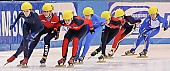 Subject: Annita van Doorn, Bianca Walter, Kimberly Derrick, Mika Ozawa; Tags: USA, United States, Vereinigte Staaten von Amerika, Sport, Shorttrack, Short Track, NED, Netherlands, Niederlande, Holland, Dutch, Mika Ozawa, Kimberly Derrick, JPN, Japan, Nippon, GER, Germany, Deutschland, Damen, Ladies, Frau, Mesdames, Female, Women, Bianca Walter, Athlet, Athlete, Sportler, Wettkämpfer, Sportsman, Annita van Doorn; PhotoID: 2009-02-14-0378