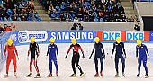 Subject: Eun-Ju Jung, Hui Zhang, Katherine Reutter, Kimberly Derrick, Marie-Ève Drolet, Mika Ozawa, Min-Jung Kim; Tags: USA, United States, Vereinigte Staaten von Amerika, Start, Starting, Sport, Shorttrack, Short Track, Min-Jung Kim, Mika Ozawa, Marie-Ève Drolet, Kimberly Derrick, Katherine Reutter, KOR, South Korea, Südkorea, JPN, Japan, Nippon, Hui Zhang, Eun-Ju Jung, Detail, Damen, Ladies, Frau, Mesdames, Female, Women, CHN, China, Volksrepublik China, CAN, Canada, Kanada, Athlet, Athlete, Sportler, Wettkämpfer, Sportsman; PhotoID: 2009-02-14-0985