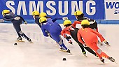 Subject: Eun-Ju Jung, Hui Zhang, Katherine Reutter, Kimberly Derrick, Marie-Ève Drolet, Mika Ozawa; Tags: USA, United States, Vereinigte Staaten von Amerika, Sport, Shorttrack, Short Track, Mika Ozawa, Marie-Ève Drolet, Kimberly Derrick, Katherine Reutter, KOR, South Korea, Südkorea, JPN, Japan, Nippon, Hui Zhang, Eun-Ju Jung, Damen, Ladies, Frau, Mesdames, Female, Women, CHN, China, Volksrepublik China, CAN, Canada, Kanada, Athlet, Athlete, Sportler, Wettkämpfer, Sportsman; PhotoID: 2009-02-14-0987