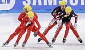 Subject: Alex Boisvert-Lacroix, Rémi Beaulieu-Tinker, Weilong Song; Tags: Weilong Song, Sport, Shorttrack, Short Track, Rémi Beaulieu-Tinker, Herren, Men, Gentlemen, Mann, Männer, Gents, Sirs, Mister, CHN, China, Volksrepublik China, CAN, Canada, Kanada, Athlet, Athlete, Sportler, Wettkämpfer, Sportsman, Alex Boisvert-Lacroix; PhotoID: 2009-02-15-1933