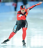 Subject: Felicitas Fettke; Tags: Start, Starting, Sport, GER, Germany, Deutschland, Felicitas Fettke, Eisschnelllauf, Speed skating, Schaatsen, Ehemalige, Detail, Damen, Ladies, Frau, Mesdames, Female, Women, Athlet, Athlete, Sportler, Wettkämpfer, Sportsman; PhotoID: 2009-02-21-0462
