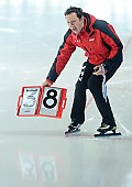 Subject: Martin ten Hove; Tags: Trainer, Coach, Betreuer, Sport, NED, Netherlands, Niederlande, Holland, Dutch, Martin ten Hove, Eisschnelllauf, Speed skating, Schaatsen, Detail, Coaching; PhotoID: 2009-07-25-2244
