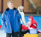 Subject: Uwe-Michael Hüttenrauch; Tags: Uwe-Michael Hüttenrauch, Trainer, Coach, Betreuer, Sport, GER, Germany, Deutschland, Eisschnelllauf, Speed skating, Schaatsen; PhotoID: 2009-10-10-0455