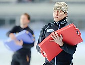 Subject: André Unterdörfel; Tags: Trainer, Coach, Betreuer, Sport, Gesichter, Face, Close up, Antlitz, Konterfei, Visage, GER, Germany, Deutschland, Eisschnelllauf, Speed skating, Schaatsen, Detail, Coaching, André Unterdörfel; PhotoID: 2009-10-30-0627