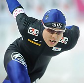 Subject: Joon Moon; Tags: Sport, KOR, South Korea, Südkorea, Joon Moon, Herren, Men, Gentlemen, Mann, Männer, Gents, Sirs, Mister, Eisschnelllauf, Speed skating, Schaatsen, Athlet, Athlete, Sportler, Wettkämpfer, Sportsman; PhotoID: 2009-11-06-0205