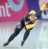 Subject: Shuang Zhang; Tags: Sport, Shuang Zhang, Eisschnelllauf, Speed skating, Schaatsen, Damen, Ladies, Frau, Mesdames, Female, Women, CHN, China, Volksrepublik China, Athlet, Athlete, Sportler, Wettkämpfer, Sportsman; PhotoID: 2009-11-07-0700
