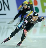 Subject: Tomomi Okazaki; Tags: Tomomi Okazaki, Sport, JPN, Japan, Nippon, Eisschnelllauf, Speed skating, Schaatsen, Damen, Ladies, Frau, Mesdames, Female, Women, Athlet, Athlete, Sportler, Wettkämpfer, Sportsman; PhotoID: 2009-11-08-0730