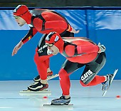 Subject: Jörg Dallmann, Patrick Wirth; Tags: Sport, Patrick Wirth, Jörg Dallmann, Herren, Men, Gentlemen, Mann, Männer, Gents, Sirs, Mister, GER, Germany, Deutschland, Eisschnelllauf, Speed skating, Schaatsen, Athlet, Athlete, Sportler, Wettkämpfer, Sportsman; PhotoID: 2010-01-09-0222