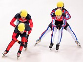 Subject: Evgeny Kozulin, Robert Seifert, Sebastian Praus, Sergej Prankevitch; Tags: Sport, Shorttrack, Short Track, Sergej Prankevitch, Sebastian Praus, Robert Seifert, RUS, Russian Federation, Russische Föderation, Russia, Herren, Men, Gentlemen, Mann, Männer, Gents, Sirs, Mister, GER, Germany, Deutschland, Evgeny Kozulin, Athlet, Athlete, Sportler, Wettkämpfer, Sportsman; PhotoID: 2010-01-22-3846