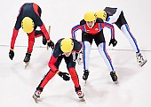 Subject: Evgeny Kozulin, Robert Seifert, Sebastian Praus, Sergej Prankevitch; Tags: Sport, Shorttrack, Short Track, Sergej Prankevitch, Sebastian Praus, Robert Seifert, RUS, Russian Federation, Russische Föderation, Russia, Herren, Men, Gentlemen, Mann, Männer, Gents, Sirs, Mister, GER, Germany, Deutschland, Evgeny Kozulin, Athlet, Athlete, Sportler, Wettkämpfer, Sportsman; PhotoID: 2010-01-22-3849