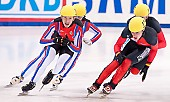 Subject: Robert Seifert, Sergej Prankevitch; Tags: Sport, Shorttrack, Short Track, Sergej Prankevitch, Robert Seifert, RUS, Russian Federation, Russische Föderation, Russia, Herren, Men, Gentlemen, Mann, Männer, Gents, Sirs, Mister, GER, Germany, Deutschland, Athlet, Athlete, Sportler, Wettkämpfer, Sportsman; PhotoID: 2010-01-22-3871