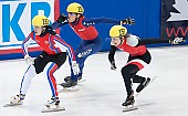 Subject: Daan Breeuwsma, Evgeny Kozulin, Jakub Jaworski; Tags: Sport, Shorttrack, Short Track, RUS, Russian Federation, Russische Föderation, Russia, POL, Poland, Polen, NED, Netherlands, Niederlande, Holland, Dutch, Jakub Jaworski, Herren, Men, Gentlemen, Mann, Männer, Gents, Sirs, Mister, Evgeny Kozulin, Daan Breeuwsma, Athlet, Athlete, Sportler, Wettkämpfer, Sportsman; PhotoID: 2010-01-23-4996