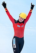 Subject: Bianca Walter; Tags: Sport, Shorttrack, Short Track, GER, Germany, Deutschland, Damen, Ladies, Frau, Mesdames, Female, Women, Bianca Walter, Athlet, Athlete, Sportler, Wettkämpfer, Sportsman; PhotoID: 2010-01-23-5526