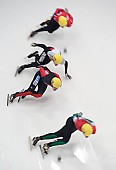 Subject: Andre Pulec, Jakub Jaworski, Tyson Heung, Péter Darázs; Tags: Sport, Shorttrack, Short Track, Feature, Feature, Detail; PhotoID: 2010-01-24-0088