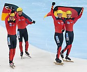 Subject: Paul Herrmann, Robert Seifert, Sebastian Praus, Tyson Heung; Tags: Tyson Heung, Sport, Shorttrack, Short Track, Sebastian Praus, Robert Seifert, Paul Herrmann, Herren, Men, Gentlemen, Mann, Männer, Gents, Sirs, Mister, GER, Germany, Deutschland, Athlet, Athlete, Sportler, Wettkämpfer, Sportsman; PhotoID: 2010-01-24-0434