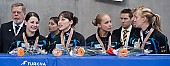 Subject: Aika Klein, Bianca Walter, Christin Priebst, Julia Riedel; Tags: Shorttrack, Short Track, Julia Riedel, GER, Germany, Deutschland, Ehemalige, Damen, Ladies, Frau, Mesdames, Female, Women, Christin Priebst, Bianca Walter, Athlet, Athlete, Sportler, Wettkämpfer, Sportsman, Aika Klein, Sport; PhotoID: 2010-01-24-0476
