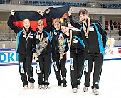 Subject: Aika Klein, Bianca Walter, Christin Priebst, Julia Riedel, Susanne Rudolph; Tags: Sport, Shorttrack, Short Track, Julia Riedel, GER, Germany, Deutschland, Ehemalige, Damen, Ladies, Frau, Mesdames, Female, Women, Christin Priebst, Bianca Walter, Athlet, Athlete, Sportler, Wettkämpfer, Sportsman, Aika Klein, Susanne Rudolph; PhotoID: 2010-01-24-0485
