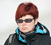 Subject: Isolde Weidner; Tags: Sport, Isolde Weidner, Gesichter, Face, Close up, Antlitz, Konterfei, Visage, Funktionär, Official, Eisschnelllauf, Speed skating, Schaatsen, Detail; PhotoID: 2010-01-30-0062