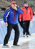 Subject: Uwe-Michael Hüttenrauch; Tags: Uwe-Michael Hüttenrauch, Trainer, Coach, Betreuer, Sport, GER, Germany, Deutschland, Eisschnelllauf, Speed skating, Schaatsen; PhotoID: 2010-02-14-1283