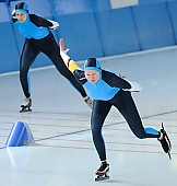 Subject: Iris Manthee; Tags: Sport, Iris Hanisch, GER, Germany, Deutschland, Eisschnelllauf, Speed skating, Schaatsen, Damen, Ladies, Frau, Mesdames, Female, Women, Athlet, Athlete, Sportler, Wettkämpfer, Sportsman; PhotoID: 2010-02-21-0372