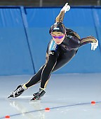 Subject: Misaki Oshigiri; Tags: Sport, Misaki Oshigiri, JPN, Japan, Nippon, Eisschnelllauf, Speed skating, Schaatsen, Damen, Ladies, Frau, Mesdames, Female, Women, Athlet, Athlete, Sportler, Wettkämpfer, Sportsman; PhotoID: 2010-03-05-0110