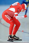 Subject: Aleksandra Dębowska; Tags: Sport, POL, Poland, Polen, Eisschnelllauf, Speed skating, Schaatsen, Damen, Ladies, Frau, Mesdames, Female, Women, Athlet, Athlete, Sportler, Wettkämpfer, Sportsman, Aleksandra Debowska; PhotoID: 2010-03-05-0153
