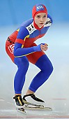Subject: Raluca Doina Ştef; Tags: Sport, Raluca Doina Ştef, ROU, Romania, Rumänien, Eisschnelllauf, Speed skating, Schaatsen, Damen, Ladies, Frau, Mesdames, Female, Women, Athlet, Athlete, Sportler, Wettkämpfer, Sportsman; PhotoID: 2010-03-05-0207
