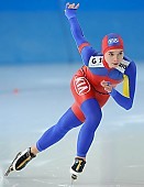 Subject: Raluca Doina Ştef; Tags: Sport, Raluca Doina Ştef, ROU, Romania, Rumänien, Eisschnelllauf, Speed skating, Schaatsen, Damen, Ladies, Frau, Mesdames, Female, Women, Athlet, Athlete, Sportler, Wettkämpfer, Sportsman; PhotoID: 2010-03-05-0232