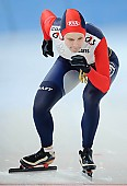 Subject: Elena Sokhryakova; Tags: Sport, RUS, Russian Federation, Russische Föderation, Russia, Jelena Sokhrjakova, Eisschnelllauf, Speed skating, Schaatsen, Damen, Ladies, Frau, Mesdames, Female, Women, Athlet, Athlete, Sportler, Wettkämpfer, Sportsman; PhotoID: 2010-03-05-0250