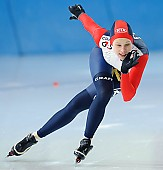 Subject: Elena Sokhryakova; Tags: Sport, RUS, Russian Federation, Russische Föderation, Russia, Jelena Sokhrjakova, Eisschnelllauf, Speed skating, Schaatsen, Damen, Ladies, Frau, Mesdames, Female, Women, Athlet, Athlete, Sportler, Wettkämpfer, Sportsman; PhotoID: 2010-03-05-0268