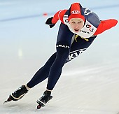Subject: Elena Sokhryakova; Tags: Sport, RUS, Russian Federation, Russische Föderation, Russia, Jelena Sokhrjakova, Eisschnelllauf, Speed skating, Schaatsen, Damen, Ladies, Frau, Mesdames, Female, Women, Athlet, Athlete, Sportler, Wettkämpfer, Sportsman; PhotoID: 2010-03-05-1722