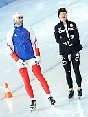Subject: Cathrine Grage, Pascal Briand; Tags: Athlet, Athlete, Sportler, Wettkämpfer, Sportsman, Catherine Grage, DEN, Denmark, Dänemark, Damen, Ladies, Frau, Mesdames, Female, Women, Eisschnelllauf, Speed skating, Schaatsen, FRA, France, Frankreich, Herren, Men, Gentlemen, Mann, Männer, Gents, Sirs, Mister, Pascal Briand, Sport; PhotoID: 2010-10-30-0453