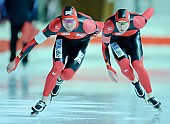 Subject: Nico Dorsch, Patrick Wirth; Tags: Athlet, Athlete, Sportler, Wettkämpfer, Sportsman, Eisschnelllauf, Speed skating, Schaatsen, GER, Germany, Deutschland, Herren, Men, Gentlemen, Mann, Männer, Gents, Sirs, Mister, Nico Dorsch, Patrick Wirth, Sport; PhotoID: 2010-11-06-0191