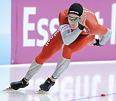 Motiv: Christoffer Fagerli Rukke; Tags: Sport, NOR, Norway, Norwegen, Herren, Men, Gentlemen, Mann, Männer, Gents, Sirs, Mister, Eisschnelllauf, Speed skating, Schaatsen, Christoffer Fagerli Rukke, Athlet, Athlete, Sportler, Wettkämpfer, Sportsman; PhotoID: 2010-11-12-0094