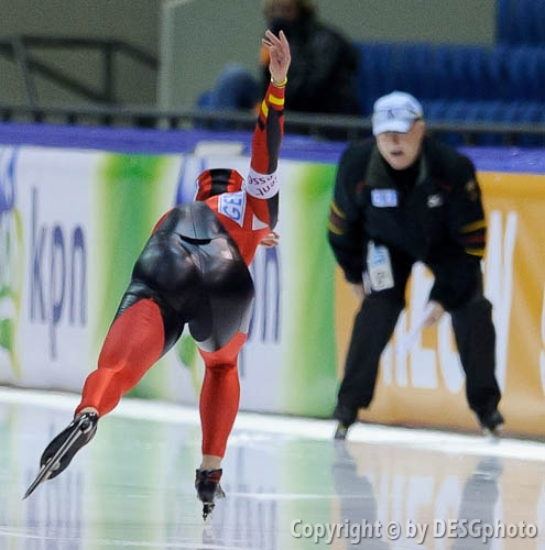 Heike Hartmann; Tags: Sport, Heike Hartmann, GER, Germany, Deutschland, Eisschnelllauf, Speed skating, Schaatsen, Damen, Ladies, Frau, Mesdames, Female, Women, Athlet, Athlete, Sportler, Wettkämpfer, Sportsman; PhotoID: 2010-11-13-0053
