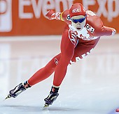 Subject: Elena Sokhryakova; Tags: Sport, RUS, Russian Federation, Russische Föderation, Russia, Jelena Sokhrjakova, Eisschnelllauf, Speed skating, Schaatsen, Damen, Ladies, Frau, Mesdames, Female, Women, Athlet, Athlete, Sportler, Wettkämpfer, Sportsman; PhotoID: 2010-11-13-0926