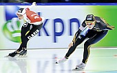 Subject: Ayaka Kikuchi, Cathrine Grage; Tags: Sport, JPN, Japan, Nippon, Eisschnelllauf, Speed skating, Schaatsen, Damen, Ladies, Frau, Mesdames, Female, Women, DEN, Denmark, Dänemark, Catherine Grage, Ayaka Kikuchi, Athlet, Athlete, Sportler, Wettkämpfer, Sportsman; PhotoID: 2010-11-13-2369