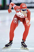 Subject: Elena Sokhryakova; Tags: Athlet, Athlete, Sportler, Wettkämpfer, Sportsman, Damen, Ladies, Frau, Mesdames, Female, Women, Eisschnelllauf, Speed skating, Schaatsen, Jelena Sokhrjakova, RUS, Russian Federation, Russische Föderation, Russia, Sport; PhotoID: 2010-11-14-0176