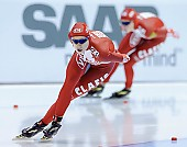 Subject: Elena Sokhryakova; Tags: Athlet, Athlete, Sportler, Wettkämpfer, Sportsman, Damen, Ladies, Frau, Mesdames, Female, Women, Eisschnelllauf, Speed skating, Schaatsen, Jelena Sokhrjakova, RUS, Russian Federation, Russische Föderation, Russia, Sport; PhotoID: 2010-11-14-0180