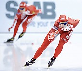 Subject: Elena Sokhryakova; Tags: Athlet, Athlete, Sportler, Wettkämpfer, Sportsman, Damen, Ladies, Frau, Mesdames, Female, Women, Eisschnelllauf, Speed skating, Schaatsen, Jelena Sokhrjakova, RUS, Russian Federation, Russische Föderation, Russia, Sport; PhotoID: 2010-11-14-0183