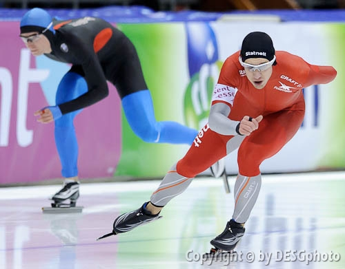 Henrik Christiansen; Tags: Athlet, Athlete, Sportler, Wettkämpfer, Sportsman, Eisschnelllauf, Speed skating, Schaatsen, Henrik Christiansen, Herren, Men, Gentlemen, Mann, Männer, Gents, Sirs, Mister, NOR, Norway, Norwegen, Sport; PhotoID: 2010-11-14-1009
