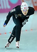 Subject: Min-Jee Oh; Tags: Athlet, Athlete, Sportler, Wettkämpfer, Sportsman, Damen, Ladies, Frau, Mesdames, Female, Women, Eisschnelllauf, Speed skating, Schaatsen, KOR, South Korea, Südkorea, Min-Jee Oh, Sport; PhotoID: 2010-11-19-0062