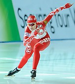 Subject: Jekaterina Malysjeva; Tags: Athlet, Athlete, Sportler, Wettkämpfer, Sportsman, Damen, Ladies, Frau, Mesdames, Female, Women, Eisschnelllauf, Speed skating, Schaatsen, Jekaterina Malysjeva, RUS, Russian Federation, Russische Föderation, Russia, Sport; PhotoID: 2010-11-19-0165